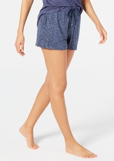Alfani Super Soft Printed Sleep Shorts, Created for Macy's
