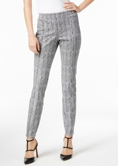 Alfani Printed Straight-Leg Pants, Only at Macy's