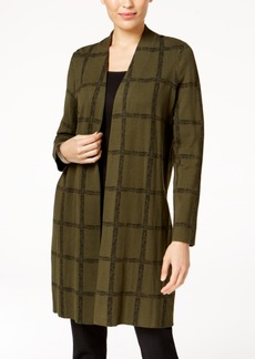 Alfani Printed Sweater Coat, Created for Macy's