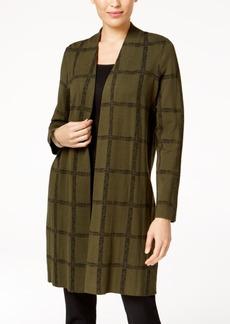 Alfani Printed Sweater Coat, Created for Macy's