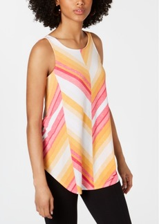Alfani Printed Tank Top, Created for Macy's