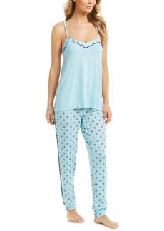 Alfani Printed Tank Top Pajama Set, Created for Macy's