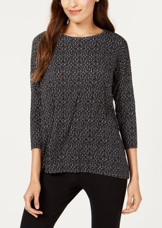 Alfani Printed Top, Created for Macy's