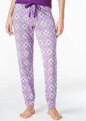 Alfani Printed Woven Pajama Jogger Pants, Only at Macy's