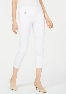 Alfani Tummy-Control Cropped Skinny Pants, Created for Macy's