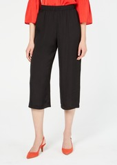 Alfani Pull-on Washed Satin Culotte, Created for Macy's