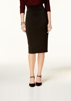 Alfani Pull-On Zip-Detail Skirt, Created for Macy's