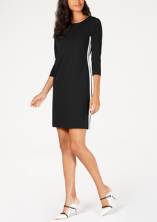 Alfani Racer Stripe Sheath Dress, Created for Macy's