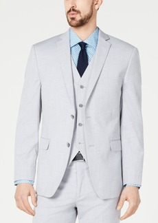9db294552db7 Alfani Red Men s Slim-Fit Performance Stretch Wrinkle-Resistant Light Gray Suit  Jacket