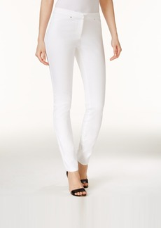 Alfani Rivet-Trim Skinny Pants, Created for Macy's
