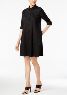 Alfani Roll-Tab Shirtdress, Only at Macy's