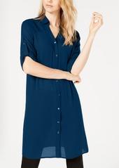 Alfani Roll-Tab Tunic Shirt, Created for Macy's
