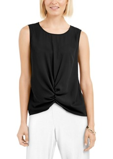 Alfani Ruched-Front Top, Created for Macy's