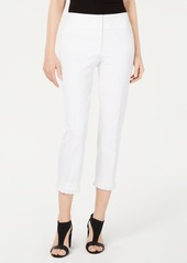 Alfani Ruffle-Hem Ankle Pants, Created for Macy's