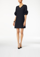 Alfani Ruffle-Sleeve A-Line Dress, Created for Macy's