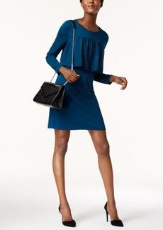 Alfani Ruffle-Trim Sweater Dress, Created for Macy's