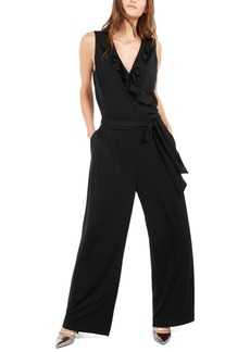 Alfani Ruffled Jumpsuit, Created For Macy's