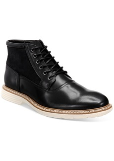 Alfani Rynier Leather Lace-Up Boots, Created for Macy's Men's Shoes
