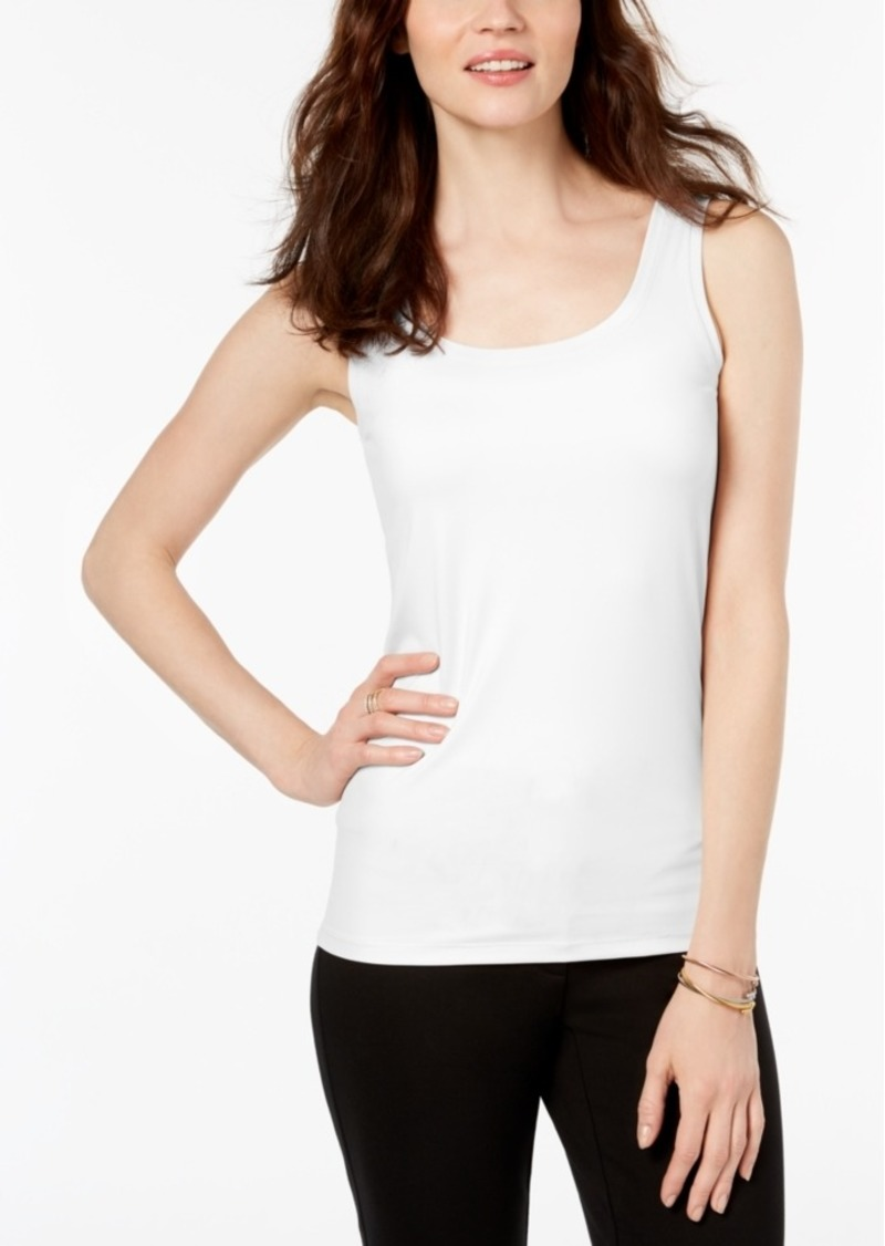 Alfani Scoop-Neck Basic Tank, Created for Macy's