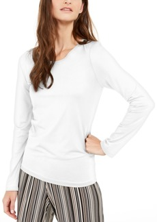 Alfani Scoop-Neck Solid Top, Created For Macy's