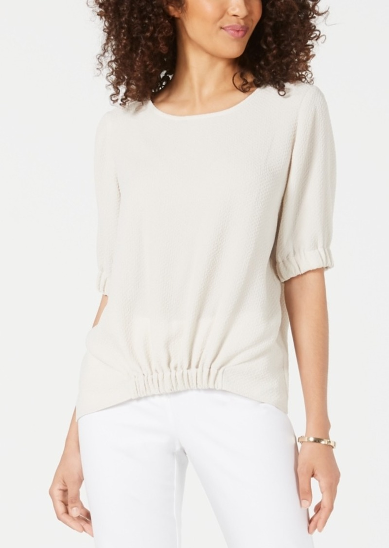 Alfani Scrunch-Front Top, Created for Macy's