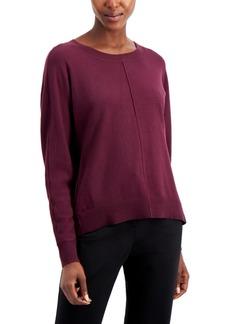Alfani Seam-Front Sweater, Created for Macy's