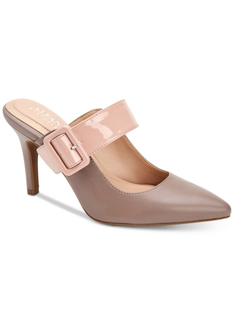 Alfani Sewell Buckled Dress Mules, Created for Macy's Women's Shoes