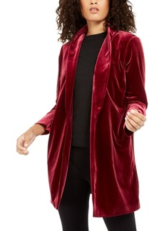 Alfani Shawl-Collar Velvet Blazer, Created For Macy's