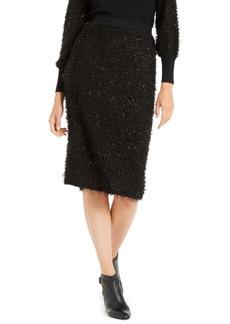 Alfani Shimmer Eyelash Pencil Skirt, Created For Macy's
