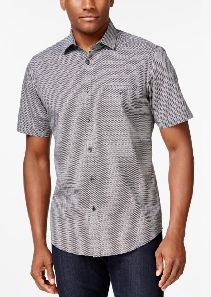 Alfani Short-Sleeve Printed Shirt, Only at Macy's