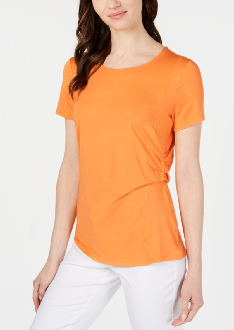 Alfani Side-Draped Top, Created for Macy's