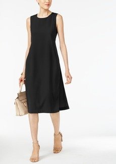 Alfani Side-Slit A-Line Dress, Created for Macy's