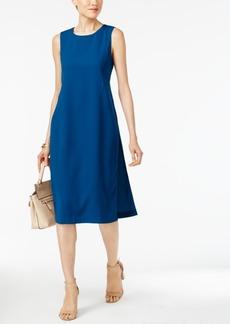 Alfani Side-Slit A-Line Dress, Only at Macy's