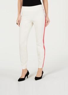 Alfani Side-Stripe Skinny Pants, Created for Macy's