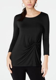 Alfani Side-Twist Top, Created for Macy's