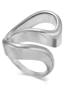 Alfani Silver-Tone Sculpted Wave Ring, Created For Macy's