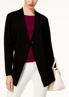 Alfani Single-Button Sweater Coat, Created for Macy's