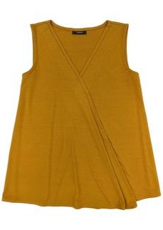 Alfani Sleeveless Crossover Top, Created for Macy's