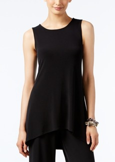 Alfani Sleeveless High-Low Tunic, Created for Macy's