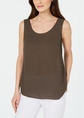 Alfani Sleeveless Scoop-Neck Shell, Created for Macy's