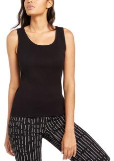 Alfani Sleeveless Scoop-Neck Sweater, Created for Macy's