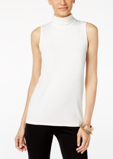 Alfani Sleeveless Turtleneck Top