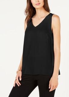 Alfani Sleeveless V-Neck Top, Created for Macy's