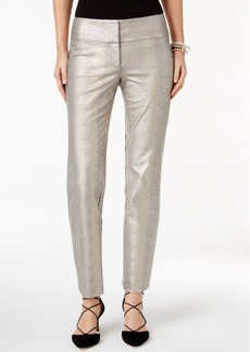 Alfani Slim-Fit Metallic Pants, Only at Macy's