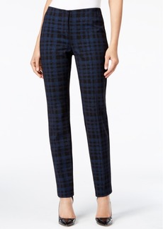 Alfani Slim-Fit Plaid Pants, Only at Macy's
