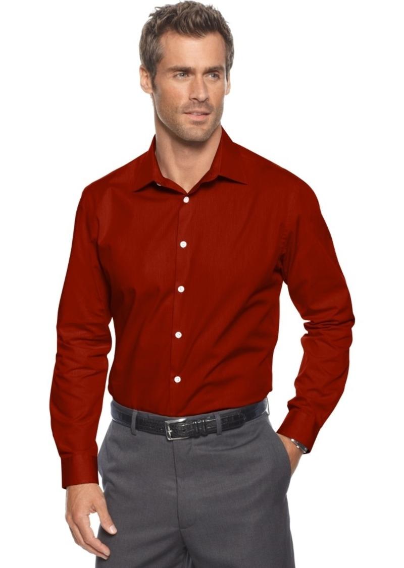 Alfani Slim-Fit Stretch Long-Sleeve Shirt
