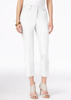 Alfani Slim-Leg Capri Pants, Only at Macy's