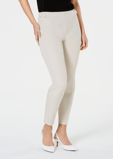 Alfani Snap-Hardware Pull-On Skinny Pants, Created for Macy's