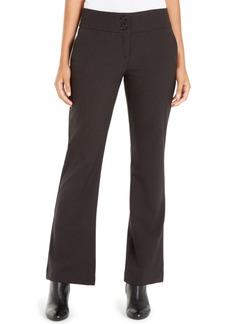 Alfani Snap-Waist Tummy-Control Trousers, Created For Macy's