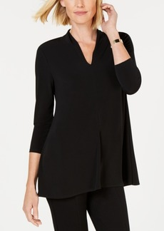 Alfani Solid High V-Neck Top, Created for Macy's